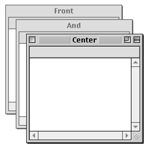 Front and Center 1.2.6