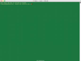 mac的终端下面使用ssh远程 Host key verification failed解决方法