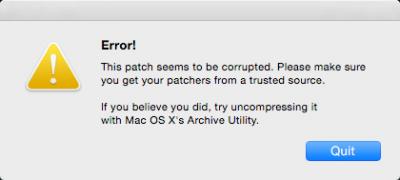 Mac软件破解补丁无法运行解决方法