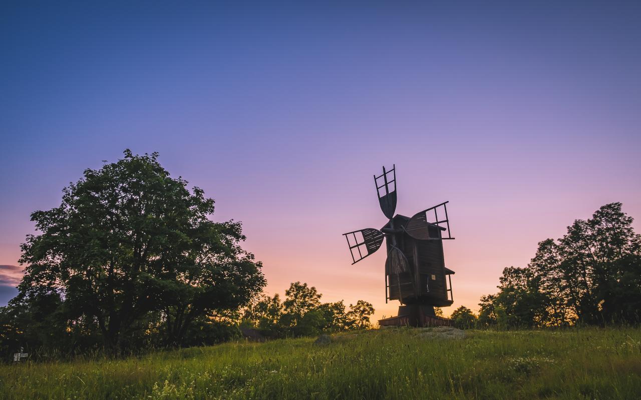Windmill Windmill, Keep On Turning...