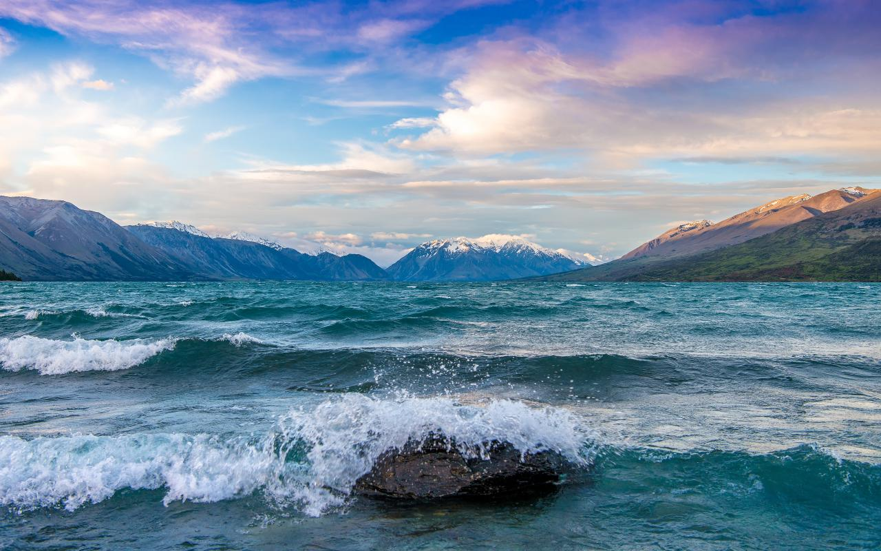 Lake Ohau - Valley Of The Winds