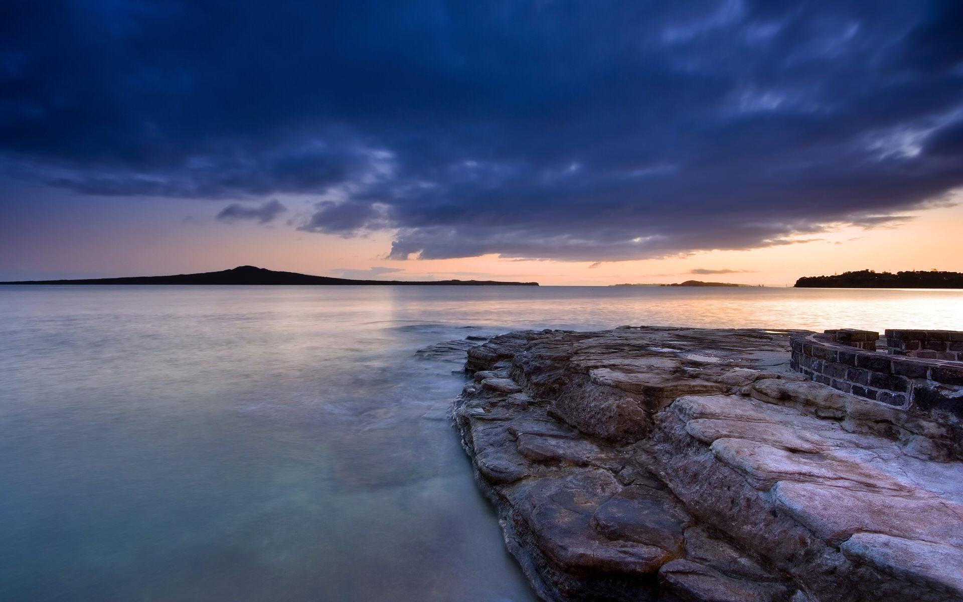 朗伊托托岛的景色高清壁纸
