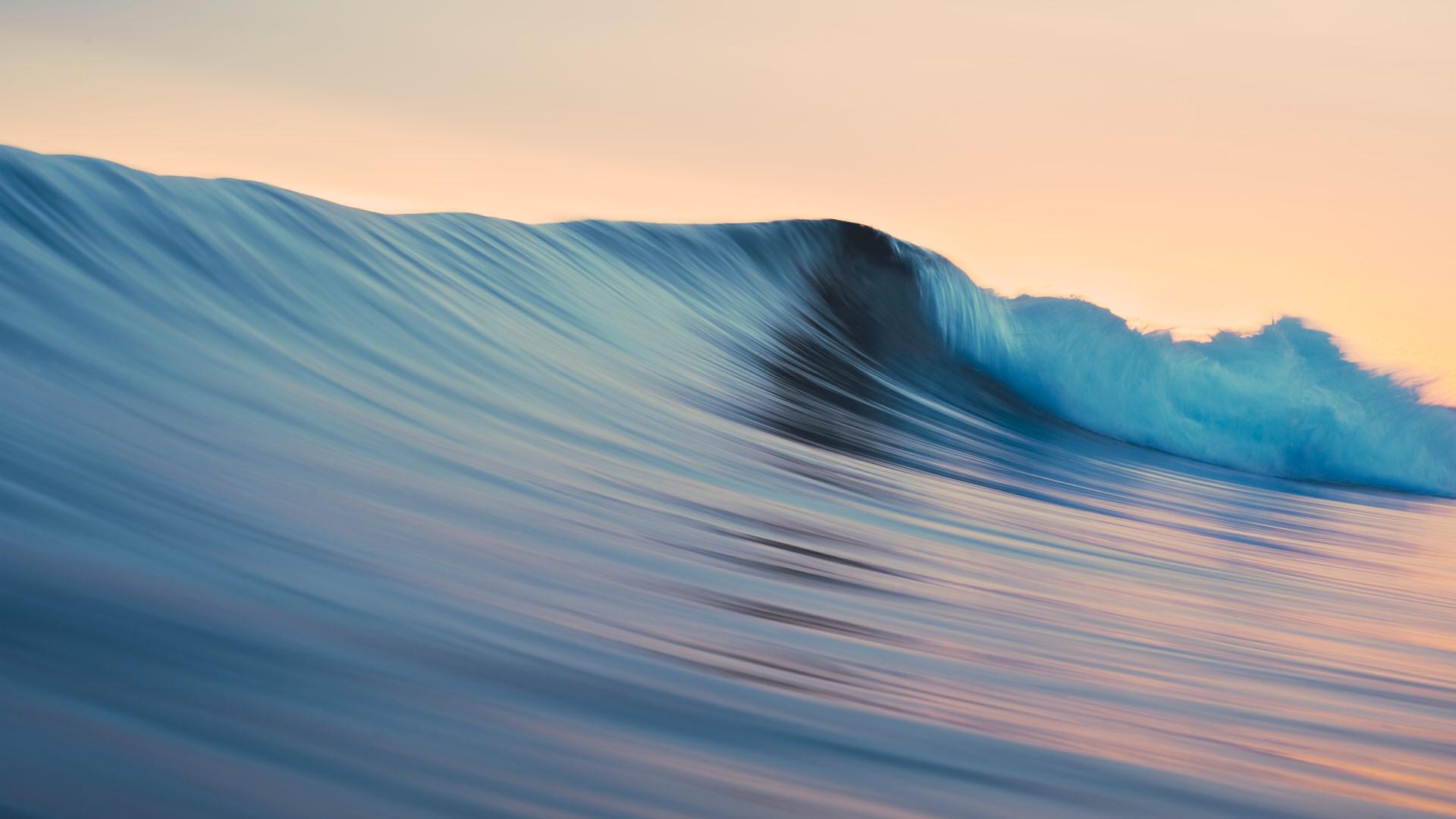 macOS Mavericks系统自带壁纸rolling waves高清壁纸