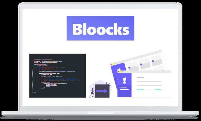 Bloocks static website generator image