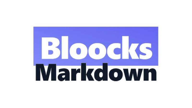 Bloocks tests, post with Markdown