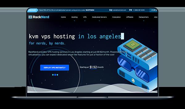 RackNerd - 洛杉矶MC 架构KVM 年付18美元-A17主机网