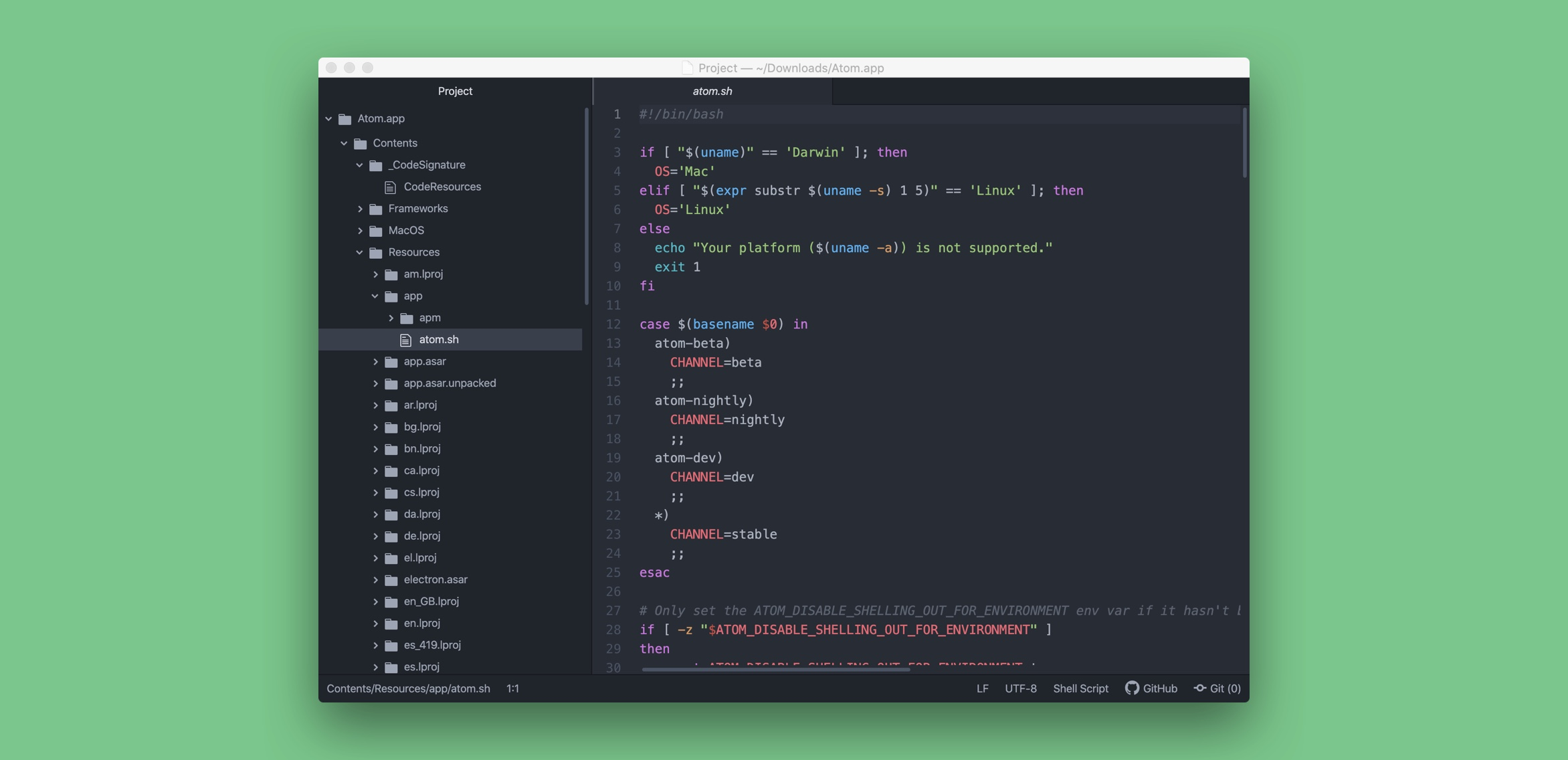 Atom 代码编辑器 文本编辑器