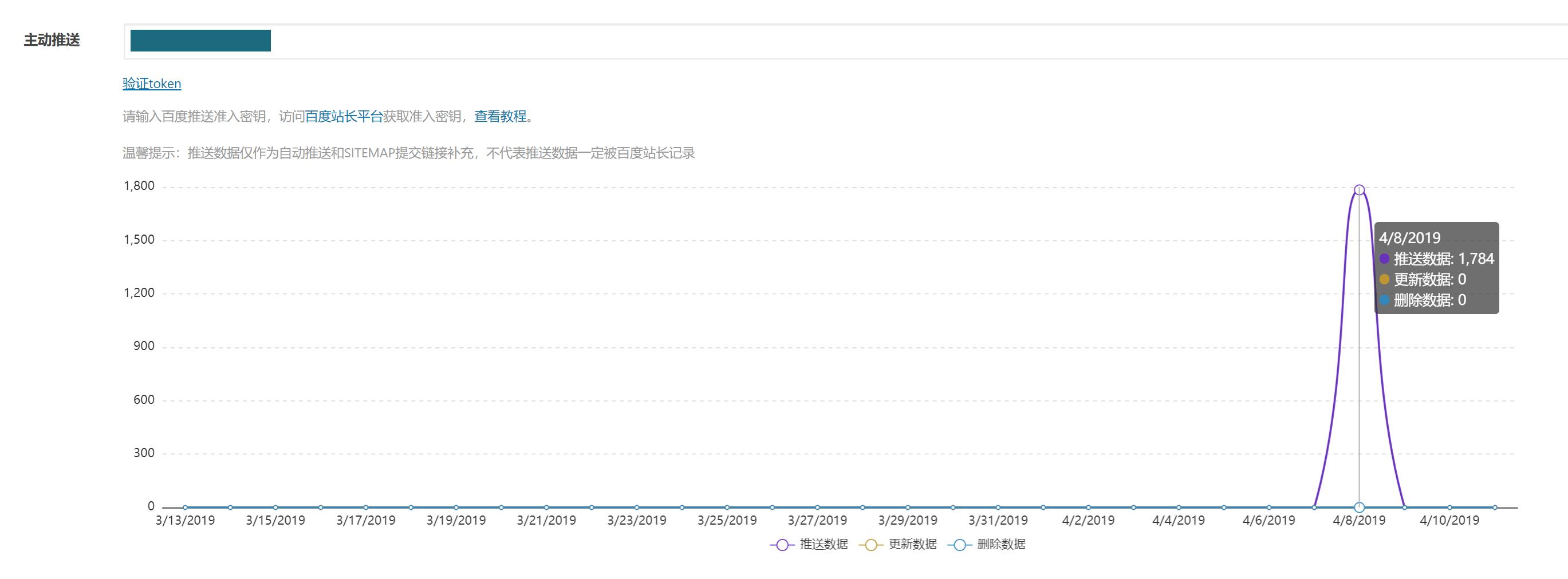 百度搜索推送管理WP插件-提升博客页面百度收录效率插图2