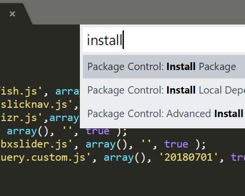 解决Sublime Text 3无法安装package的问题