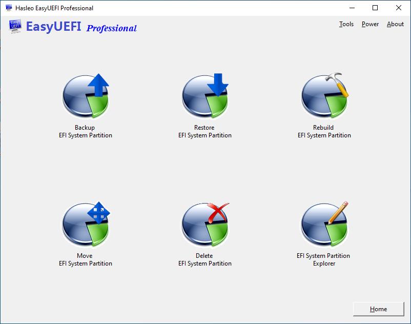 EFI system partition (ESP) management