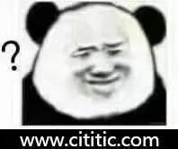 表情复杂疑惑问号熊猫头表情图片