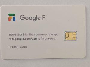 Google Fi全球卡(主卡)