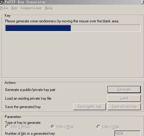 SSH 密钥Windows平台直接用PuTTY生成