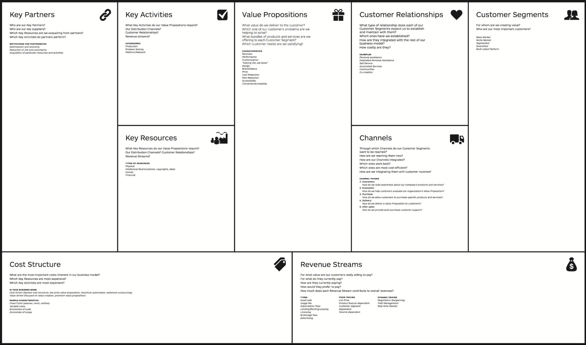 商业计划书模板