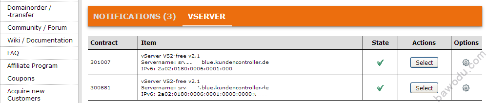 EUserv 德国免费IPv6 only VPS注册及使用教程