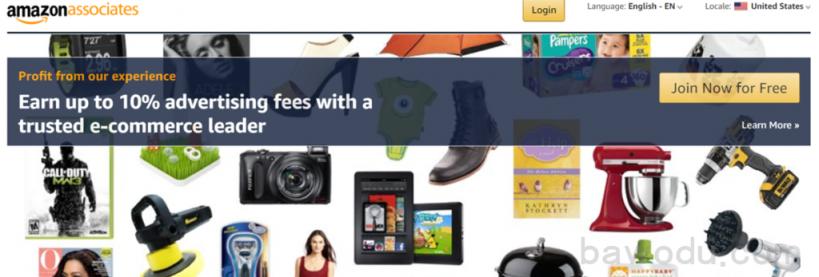 Amazon Associates 亚马逊联盟