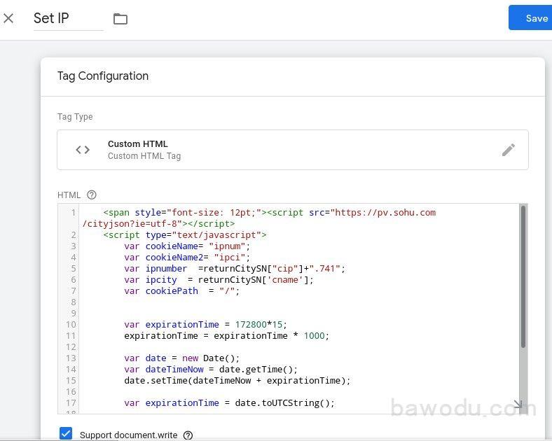 自定义HTML