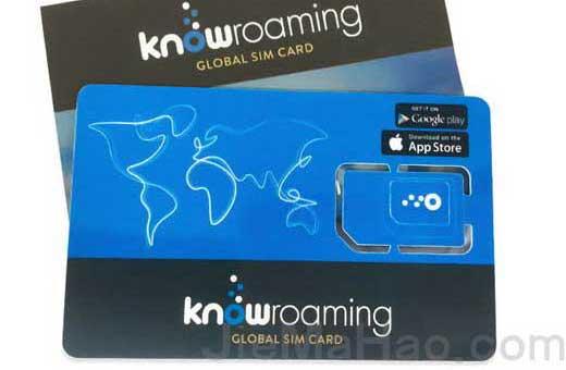 美国注册卡,0月租,不充值也可长期有效KnowRoaming全球电话卡