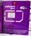 马来西亚Celcom紫卡