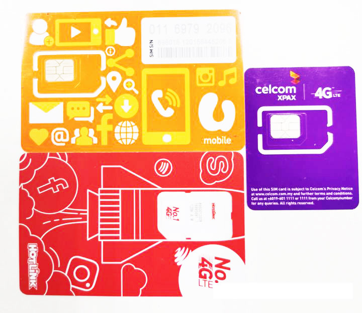 马来西亚手机电话卡