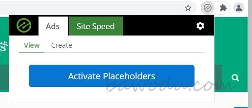 Ezoic Chrome 插件方式自动插入Plaeholder