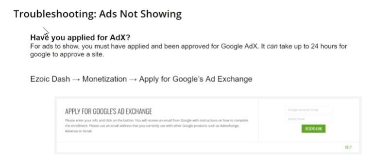 申请Google's Ad Exchange账号