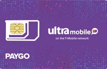 Ultra Mobile PayGo 3刀月租最低养卡成本的美国电话卡
