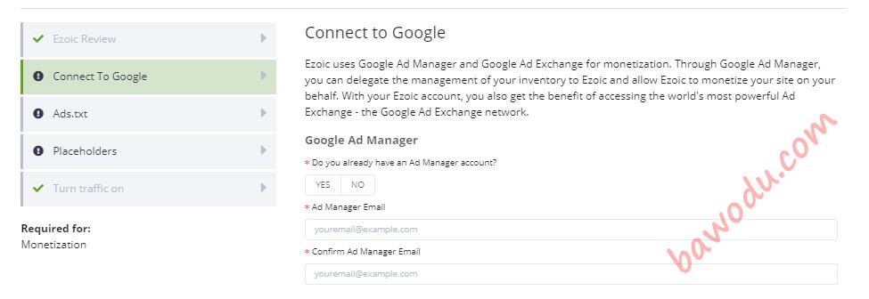 Ezoic Google Ad Manager