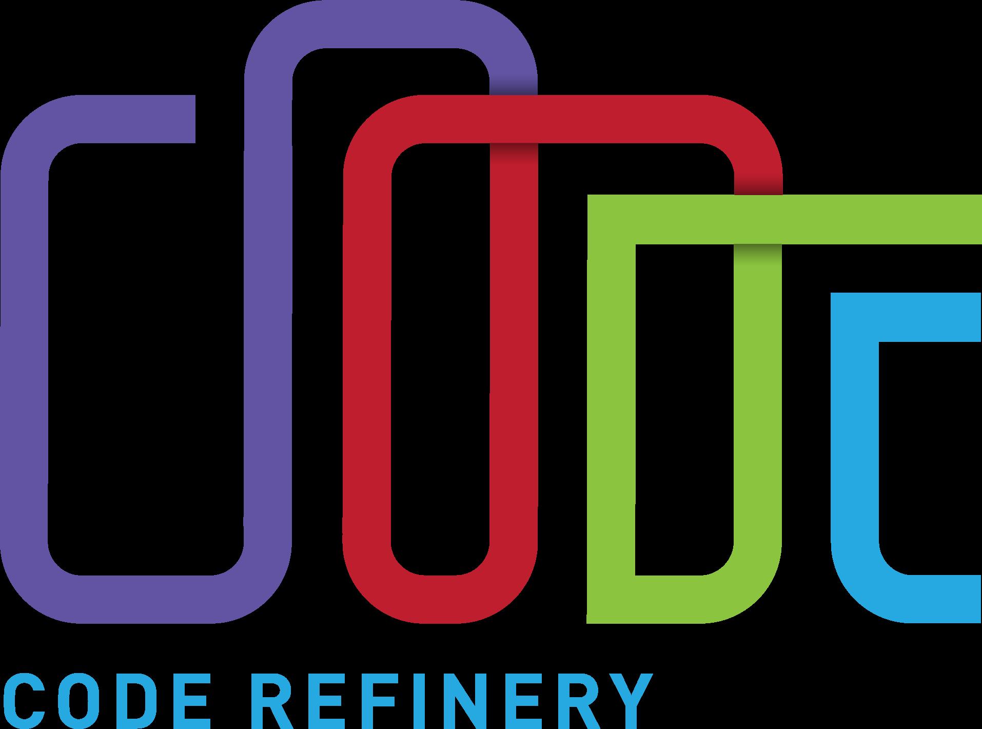 CodeRefinery logo