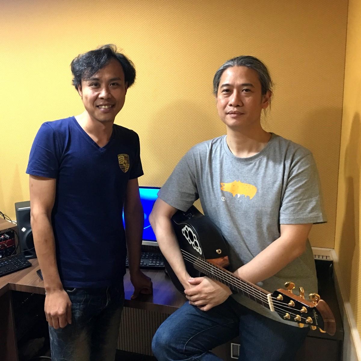 專訪卑南歌手徐宏瑋DiyanDi、製作人董一明 + 空中現場