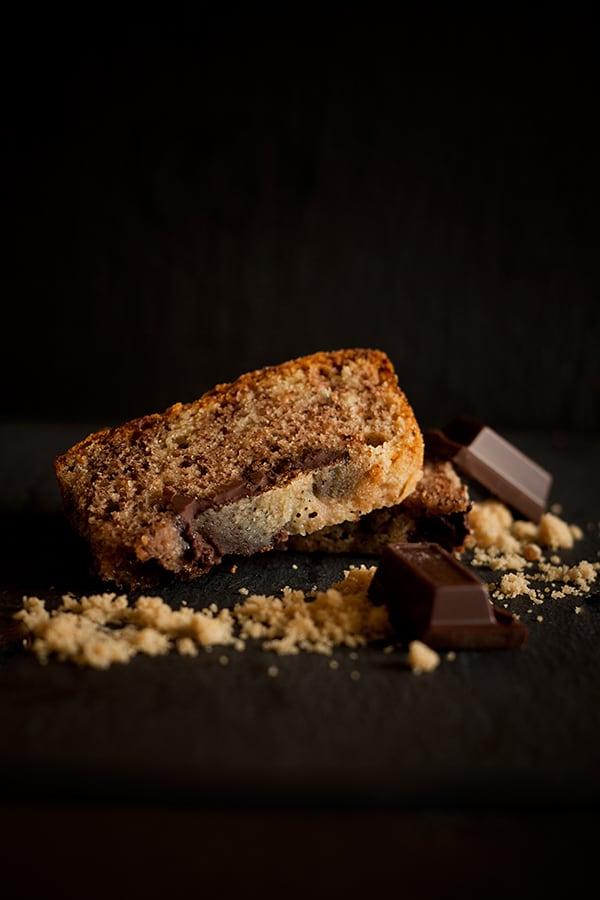 Marbré au chocolat noir/vanille