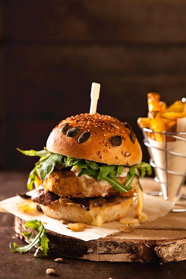 Burgers savoyards végétariens