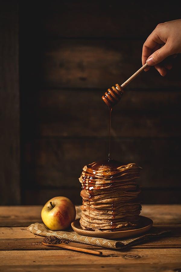 Pancakes vegan, légers et moelleux