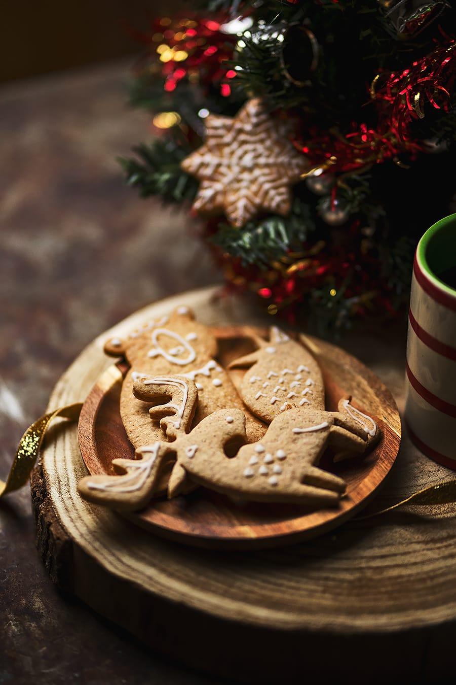 Biscuits vegan pour les fêtes