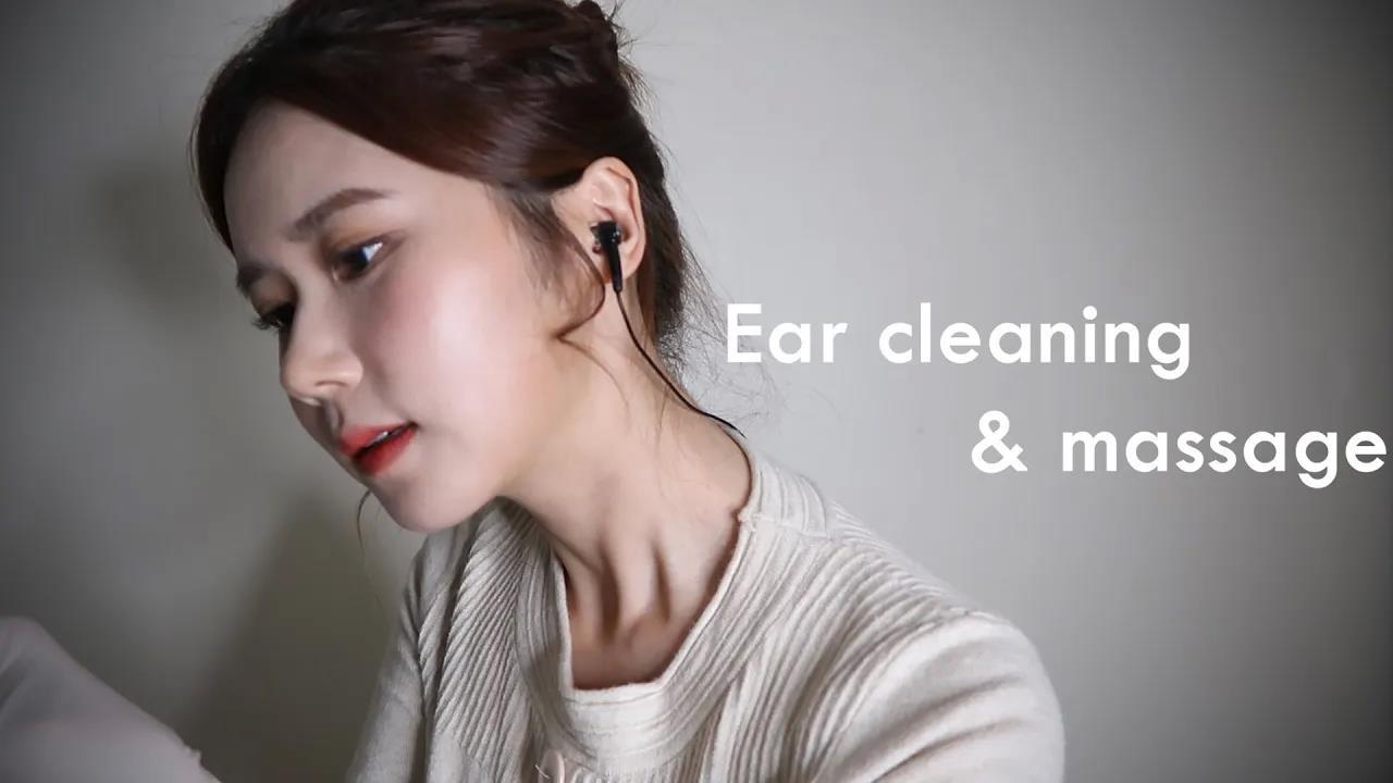 ASMR(SUB)耳部清洁店RP(去角质耳部清洁耳部皮肤护理按摩)-瞌睡熊ASMR