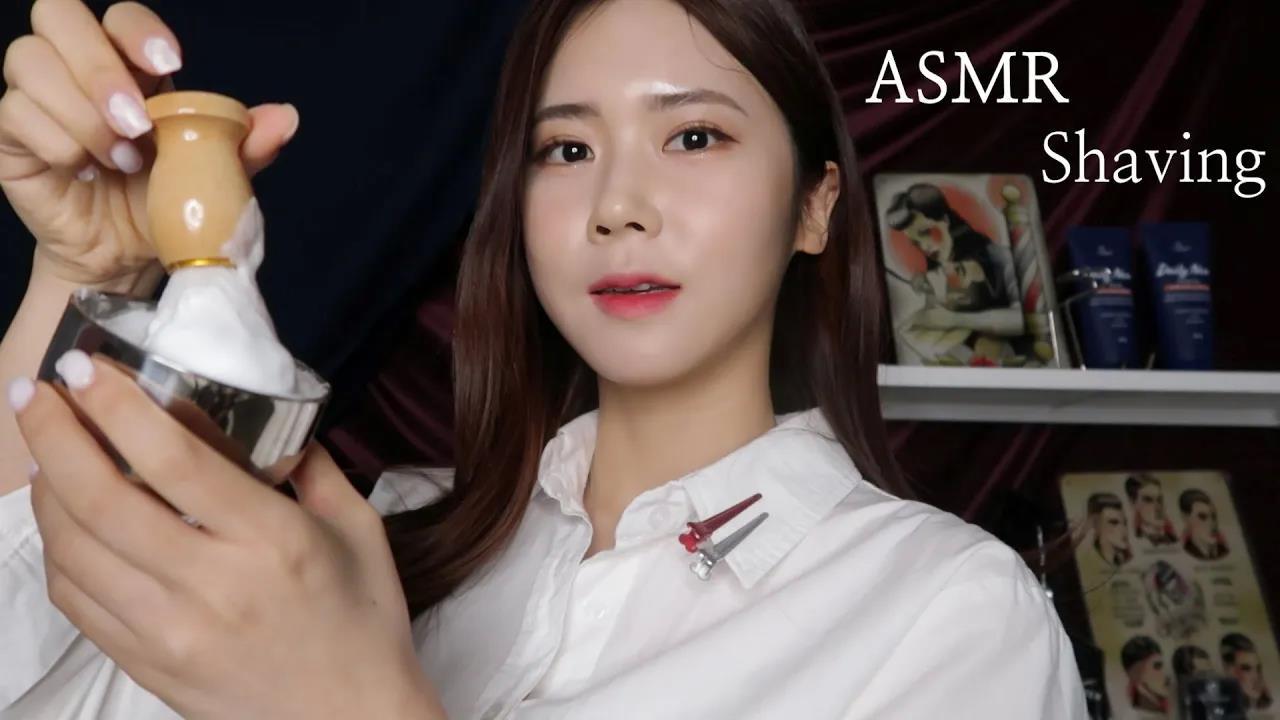 ASMR.SUB公司温馨舒适,Mongsil理发店,我们会找回你隐藏的美丽-瞌睡熊ASMR