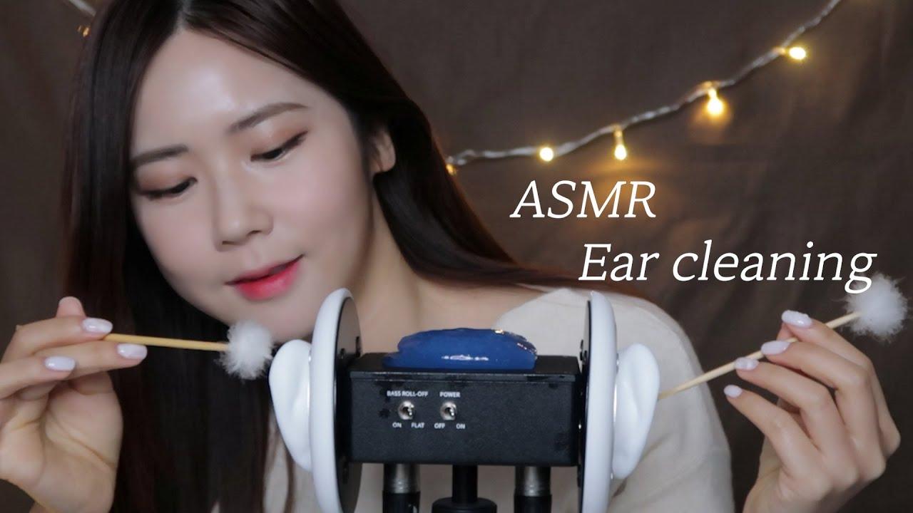 ASMR.SUB公司耳朵清洁深层放松(按摩,摩擦,抓挠)消毒你的耳朵-瞌睡熊ASMR