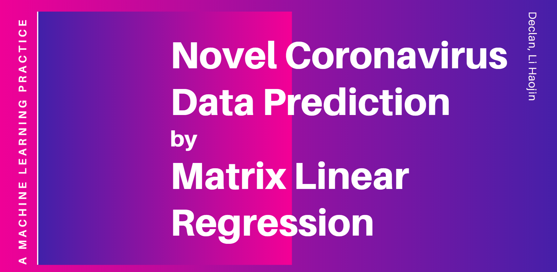 2019-nCoV Data Prediction
