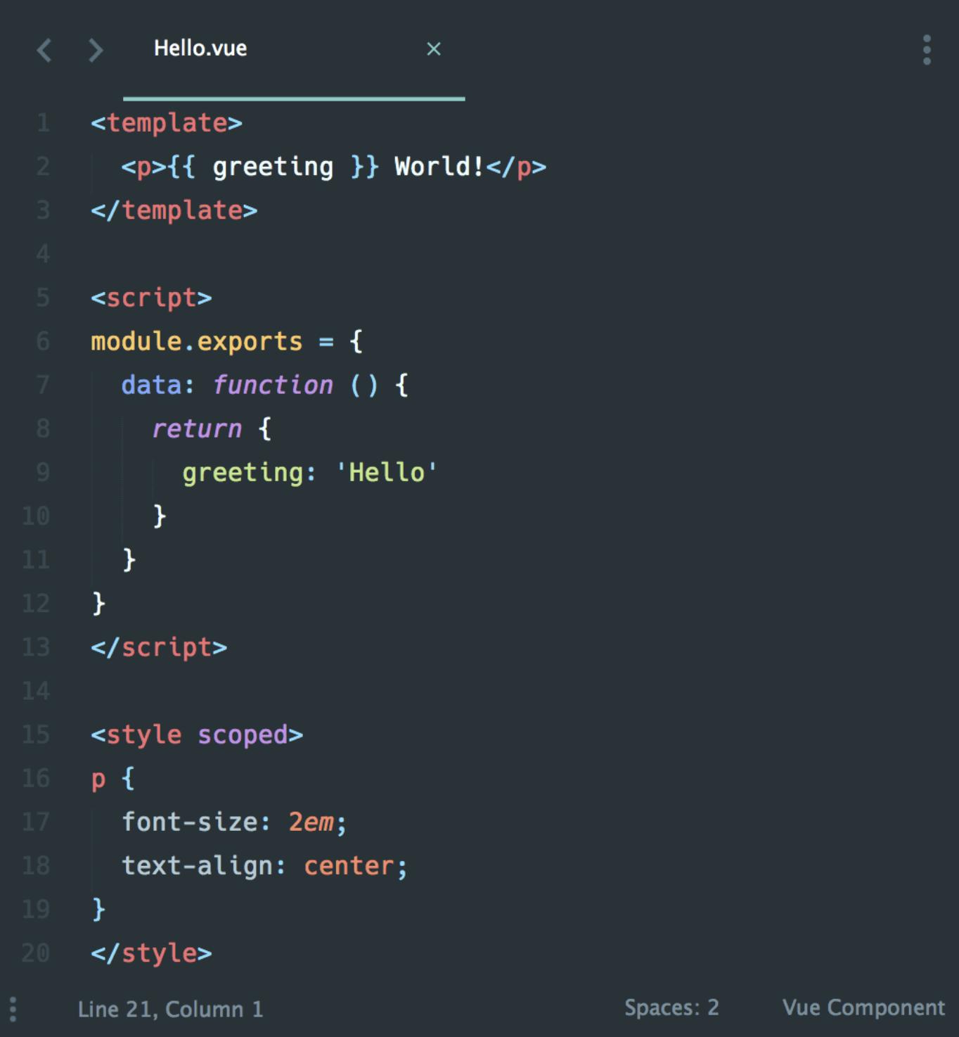 单文件组件的示例