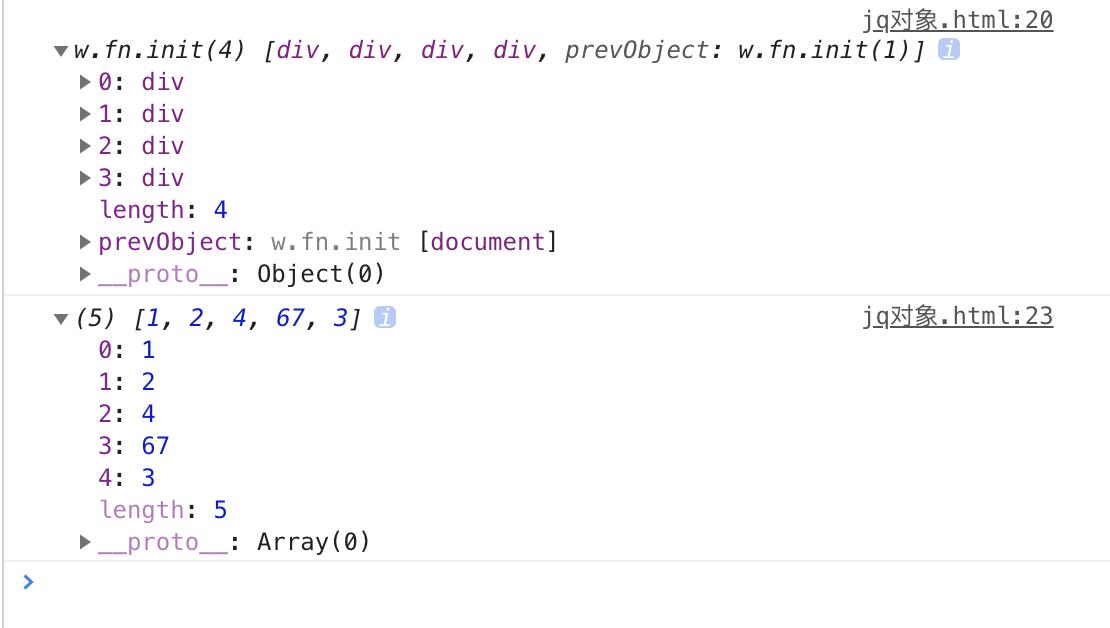 「jQuery」基础知识 核心函数jquery对象的理解对静态方法each,map进行练习