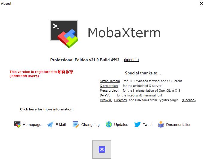 MobaXterm:Windows平台强大的终端,含在线生成专业版授权!