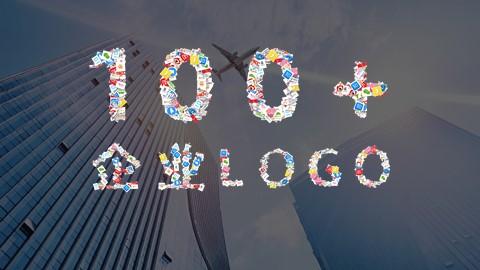 100+国内知名企业logo