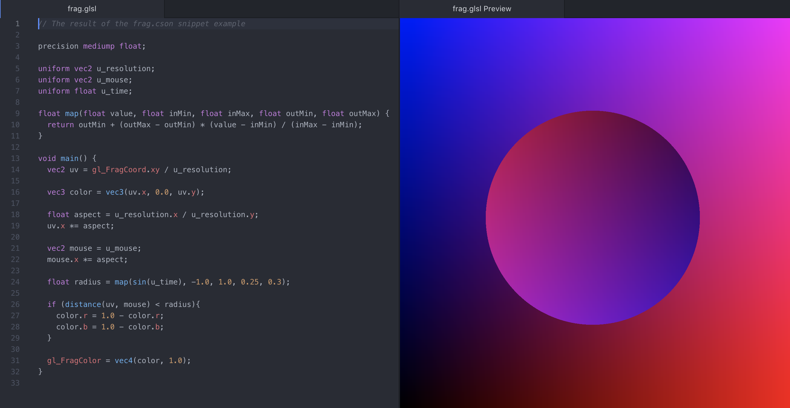 glsl-preview