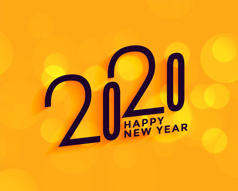 2020新年快乐4K壁纸