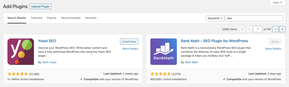 Rank Math vs Yoast SEO:哪个更适合SEO?