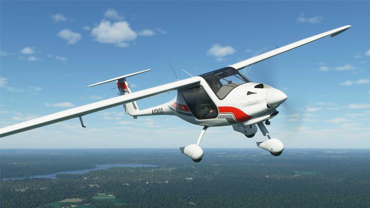 超真实模拟游戏《微软飞行模拟2020》英文版