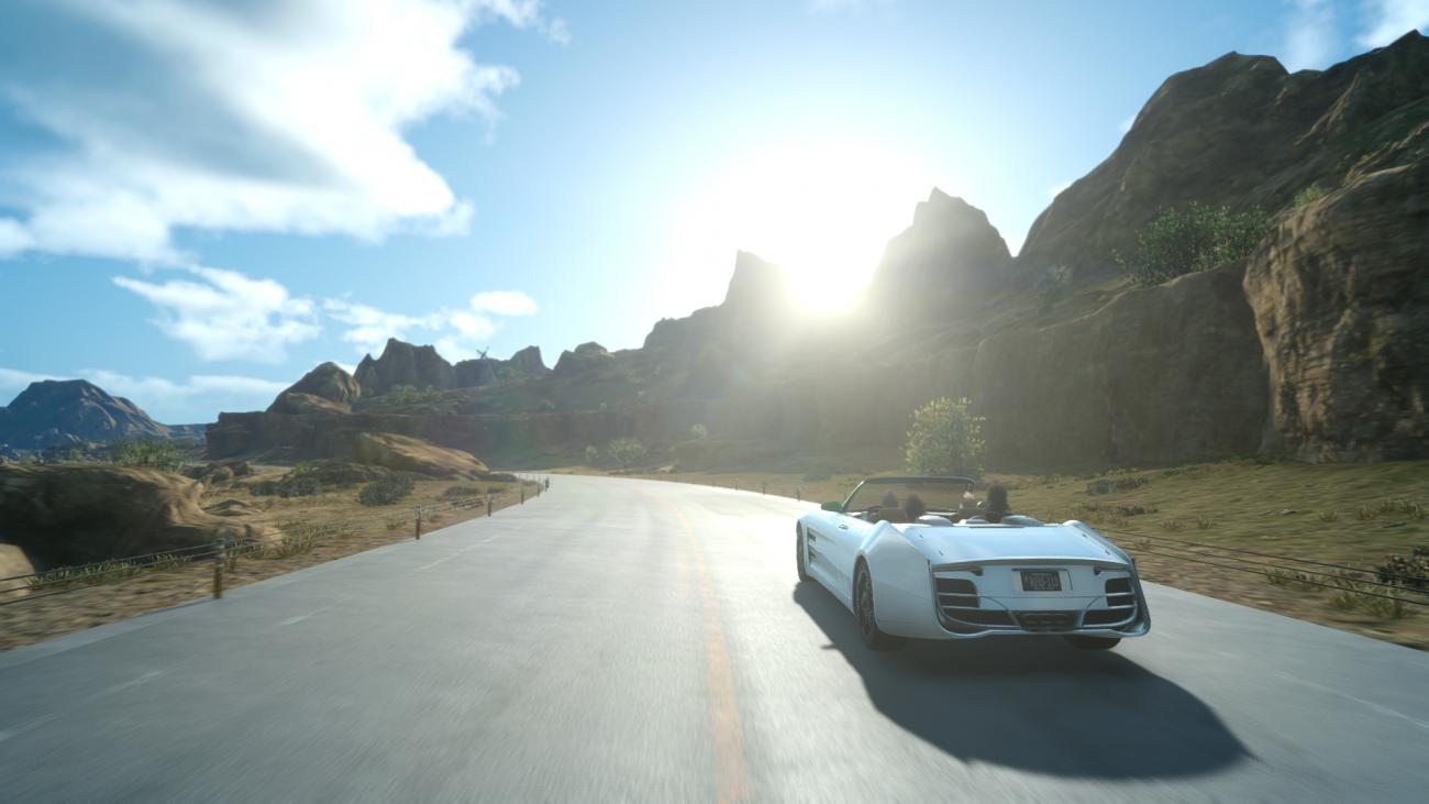 图片来自游戏《最终幻想》的截图,可以看到和一般手机拍摄的照片几乎看不出差别