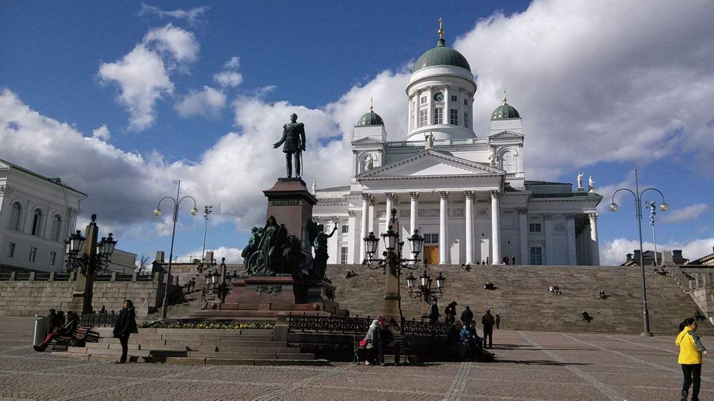 芬兰首都 赫尔辛基
