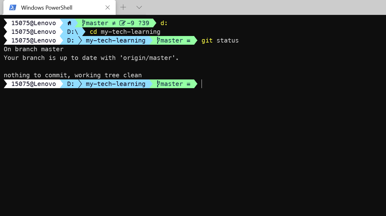Windows Powershell 美化:oh-my-posh 方案