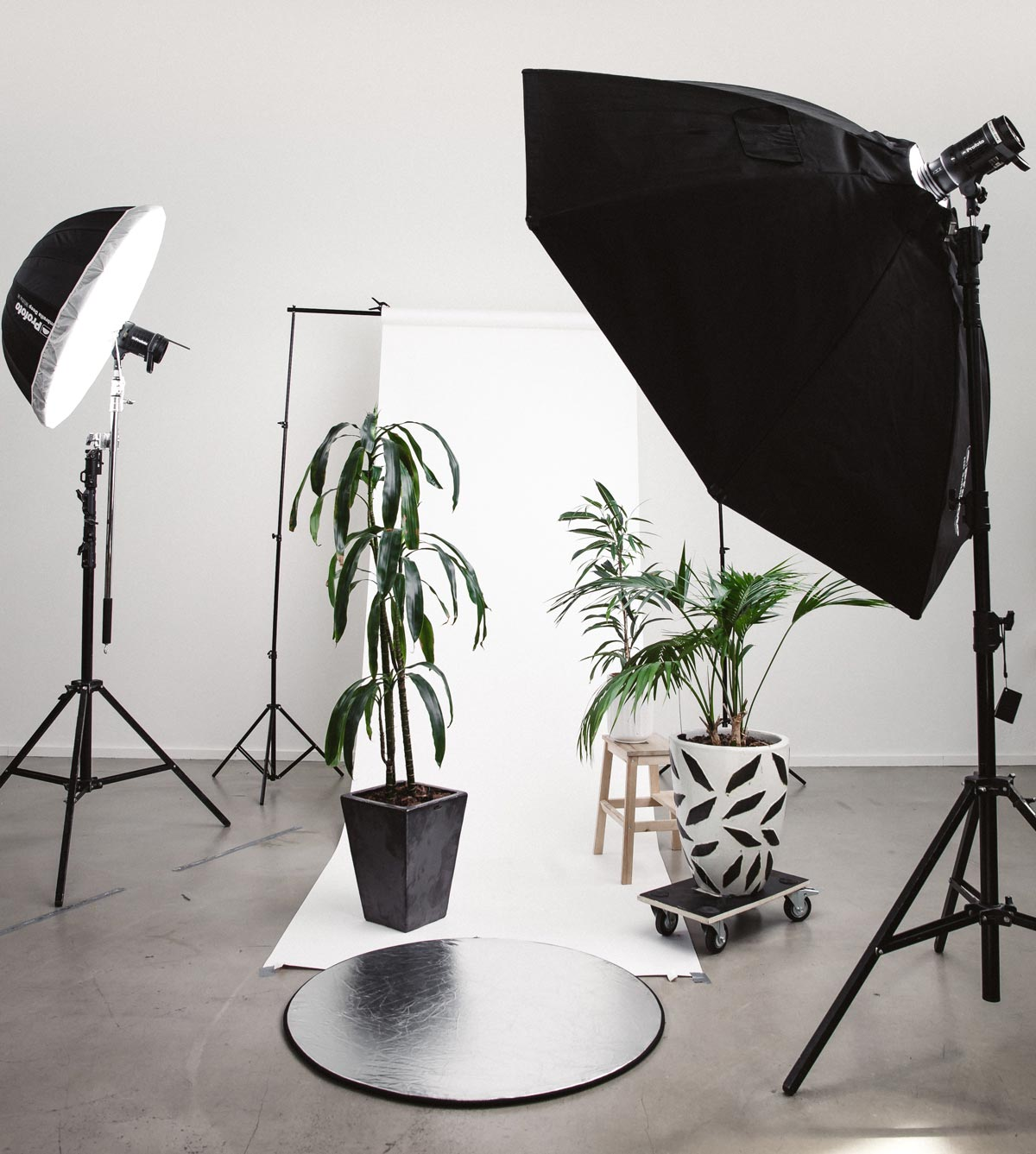 invest in a lighting kit